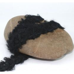 Galon passementerie laine noire