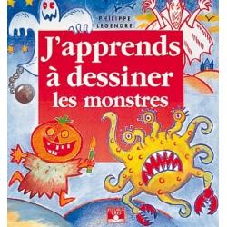 Livre J'apprends à dessiner les monstres