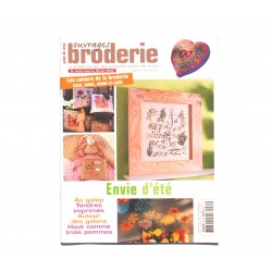 Magazine point de croix, ouvrages broderie n°64 mai 2005