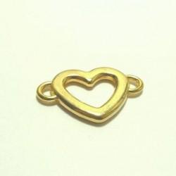 Breloque or coeur