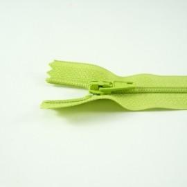 Fermeture à glissière classique vert acide