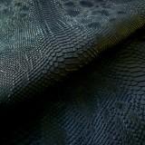 Simili cuir comodo bleu nuit