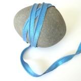 Passepoil lurex bleu