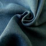 Toile de jute bleu-gris