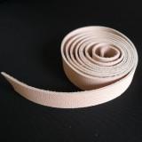 Lanière 20 mm cuir rose