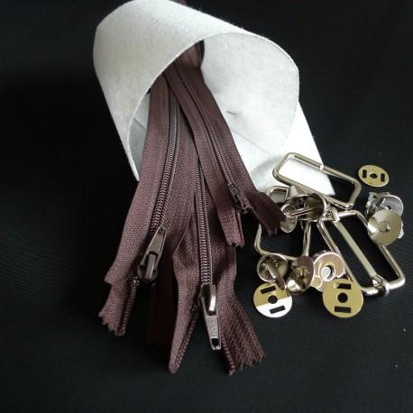 Kit besace large Zip Zip colors
