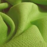 Toile de jute vert acide