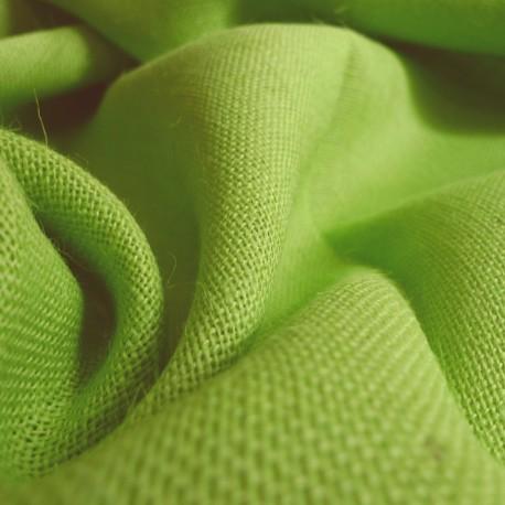 toile de jute vert acide tissus. Black Bedroom Furniture Sets. Home Design Ideas