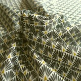 Enduit Paon noir et or