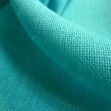toile de jute turquoise