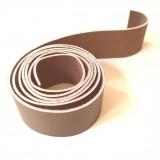 Lanière 20 mm cuir marron