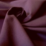 Tissu toile canevas aubergine