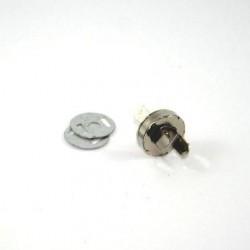 Fermoir magnétique nickel