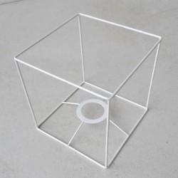 carcasse abat jour carr abat jour. Black Bedroom Furniture Sets. Home Design Ideas