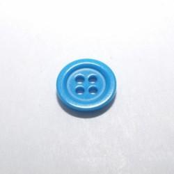 Bouton dragée turquoise