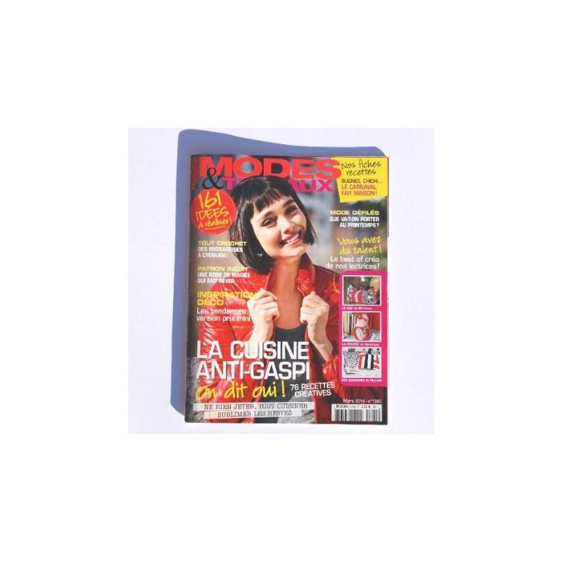 Magazine modes et travaux occasion n 1360 livres magazines for Magazine maison et travaux