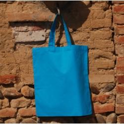 Sac vierge coton turquoise