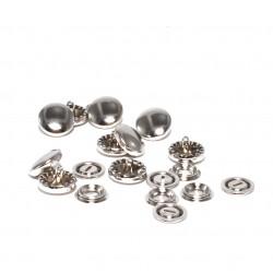 Boutons à recouvrir métal 11 mm