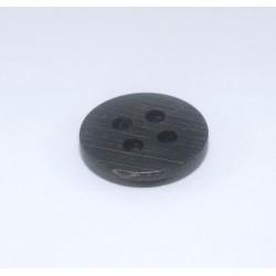 Bouton bois noir