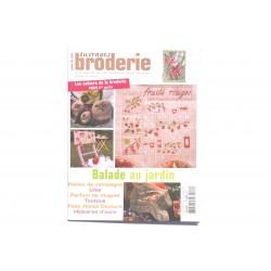 Magazine point de croix, ouvrages broderie n°69 mars 2006