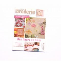 Magazine point de croix, ouvrages broderie n°62 janvier 2005