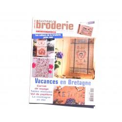 Magazine point de croix, ouvrages broderie n°65 juillet 2005
