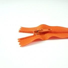 Fermeture à glissière classique orange