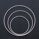 Cercle nu rond métal