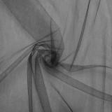 Tissu tulle  noir x 50 cm
