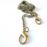 Chaine de sac bronze