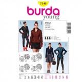 Patron robe Cousu main Burda 7034