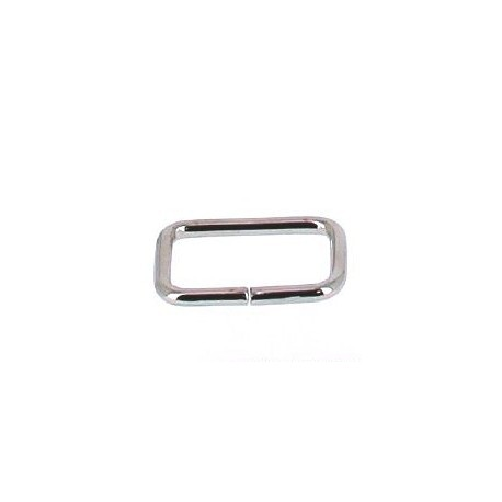 Boucle rectangle 25 mm