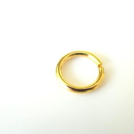 Anneau or 7 mm