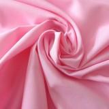 Tissu coton rose