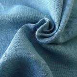 Toile de jute bleu