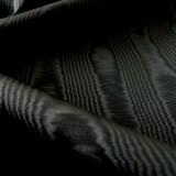 Tissu moiré noir