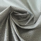 Tissu japonais Fuji gris