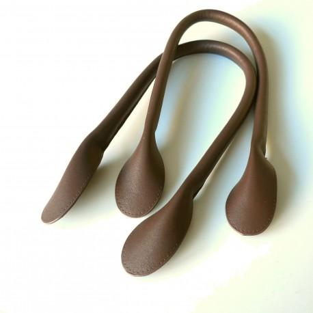 Anse de sac à main marron