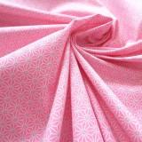 Tissu japonais Fuji rose