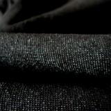 Tissu jeans noir