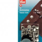 Rivets 9 mm nickel