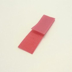 Velcro rouge 20 mm