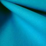 Tissu toile canevas turquoise