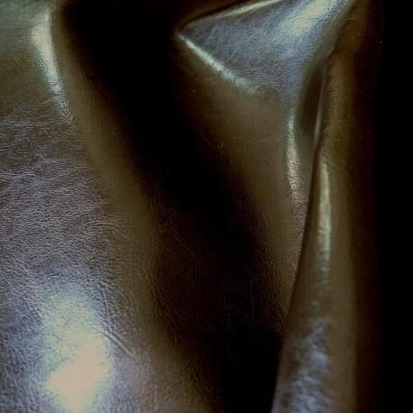 Simili cuir Maltese chocolat