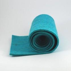 Feutre pure laine turquoise